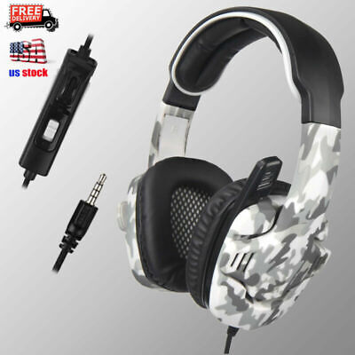 Sades SA-708 GT Surround Sound Gaming Headset Headphone w/Mic For PC PS4 Xboxone