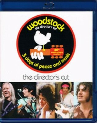 Woodstock: Three Days of Peace  Music (Blu-ray Disc, 2-Disc Set, Anniversary)