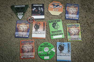 GREEN DAY – Backstage Pass collection and Hard Rock Casino Chip