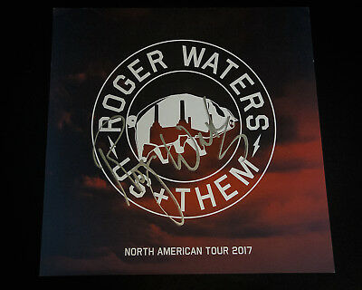 Roger Waters – Signed Us + Them 2017 Tour Poster