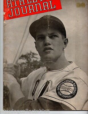 American  Magazine Athletic Journal 1959 Baseball Cover