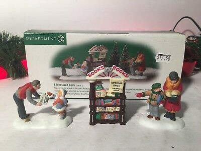 New Department 56 Christmas In The Cities A Treasured Book Set Of 3 #58963