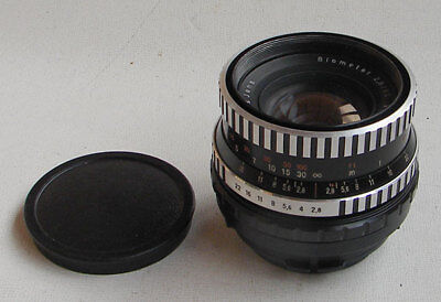 BIOMETAR 2.8/80mm Carl Zeiss Jena German lens - ARRI Red One Arriflex PL EXC.