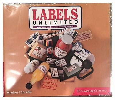 Labels Unlimited (Pc) Brand New Sealed - Free U.s. Shipping - Nice