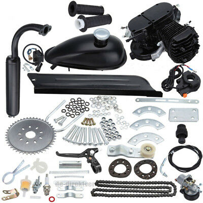 2-Stroke 80cc Motor Motorized Gas Petrol Motor Bicycle Bike Engine Kit 45km/hour