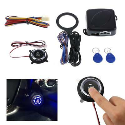 Car RFID Engine Push Stop Start Button Lock Ignition Starter Keyless Entry UK