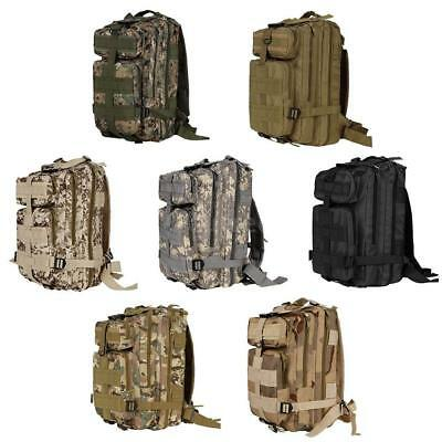 30L Backpack Military Tactical Trekking Bag Nylon Travel Shoulder Pack Daypack