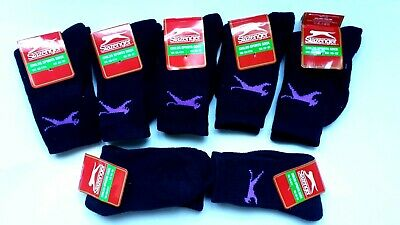 5 x NEW SLAZENGER CHILDS BLACK CREW SPORTS SOCKS SIZE UK C8-C13 (EU 26-32) KIDS