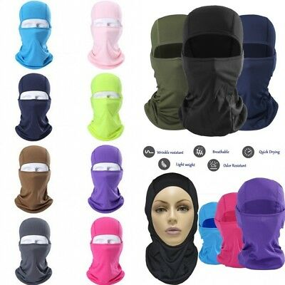 Balaclava Tactical Motorcycle Cycling Hunting Outdoor Ski Full Face Mask j-c