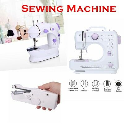 Household & Travel Sewing Machine Sew Dressmaking Craft Electric New