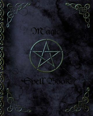 Magic Spell Book of Shadows / Grimoire  Gifts by smART bookx Paperback Book New