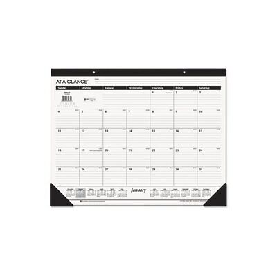 At A Glance At-A-Glance Plan. Write. Remember. Notebook with Reference Calen ...