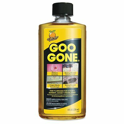 Goo Gone Original Cleaner, Citrus Scent, 8 oz Bottle -WMN2087EA