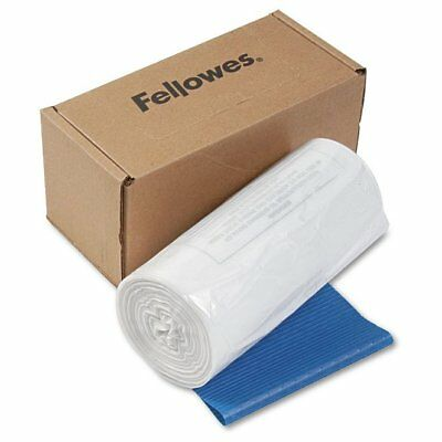 Fellowes Powershred Shredder Waste Bags, 14-20 gal Capacity, 50/CT - FEL36054