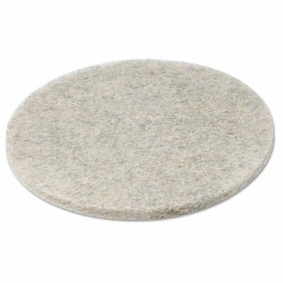 Boardwalk Natural Hair Extra High-SpeedFloor Pads, Natural, 20-Inch Diameter ...