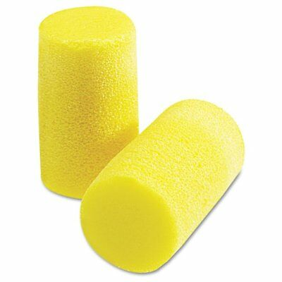 3M E-A-R Classic Plus Earplugs, PVC Foam, Yellow, 200 Pairs - MMM3101101