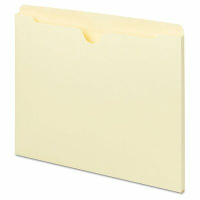 Universal One Universal Manila File Jackets with Reinforced Tabs, Flat, Lett ...