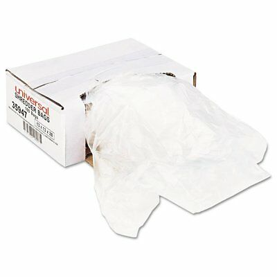 Universal High-Density Shredder Bags, 16 gal Capacity, 100/CT - UNV35947
