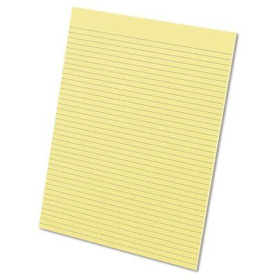 Ampad Glue Top Pads, 8 1/2 x 11, Canary, 50 Sheets, Dozen - TOP21218