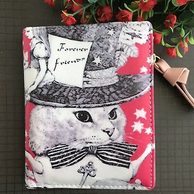 Beautiful Cat /Alice In Wonderland Theme Inspired Purse/wallet