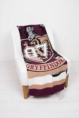 EXTRA LARGE New Harry Potter Super Soft Boys Girls Kids Fleece Blanket Bed Throw