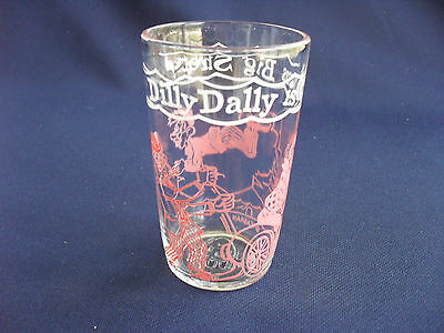 Vintage Howdy Doody / Dilly Dally Jelly Glass / Tumbler