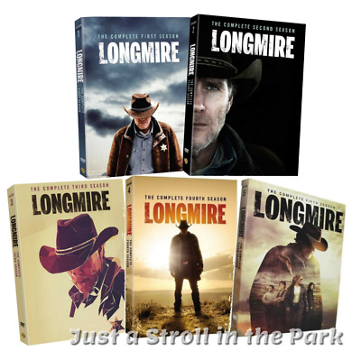 Longmire: Robert Taylor TV Series Complete Seasons 1 2 3 4 5 Box/DVD Set(s) NEW!