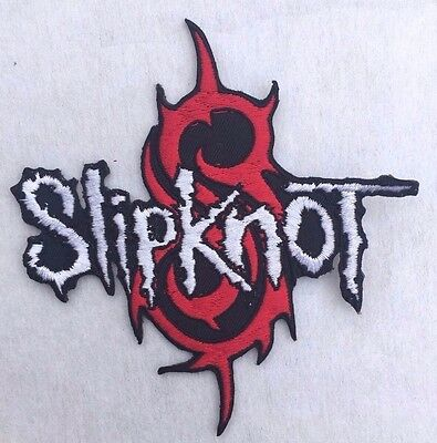 Slipknot Heavy Metal Rock Band embroidered iron-on patch 3 x 2.5 inch i143