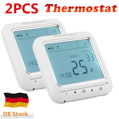 menred apt 20 digitaler raumthermostat programmierbar aufputz 230 v eur 13 09 picclick de. Black Bedroom Furniture Sets. Home Design Ideas