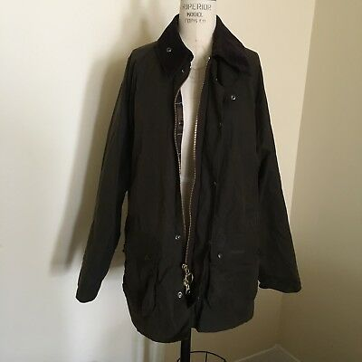 Barbour Classic Men's Bedale Jacket Waxed Size Large