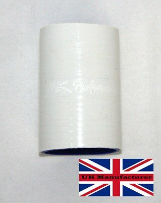 80Mm Silicone Coupler Joiner Hose Turbo Intercooler Coolant White