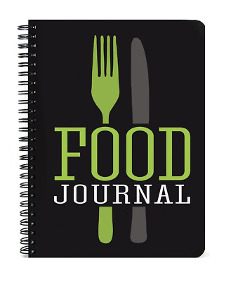 "BookFactory® Food Journal / Food Diary / Diet Journal, 120 Pages - 5"" x 7, Durab"