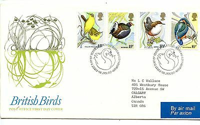 1980 Great Britain British Birds First Day Cover