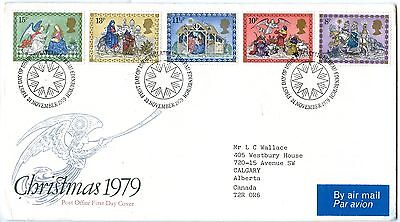 1979 Great Britain First Day Cover Christmas