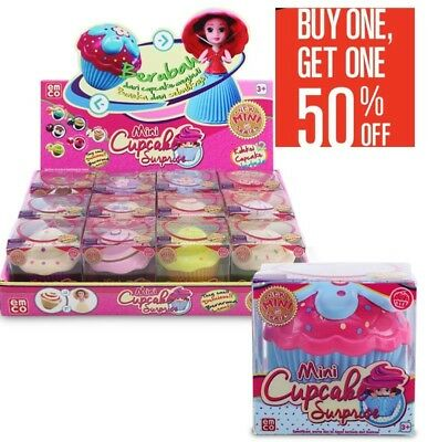 Mini Cupcake Surprise Scented Princess Doll Buy 1 Get 1 50% Off
