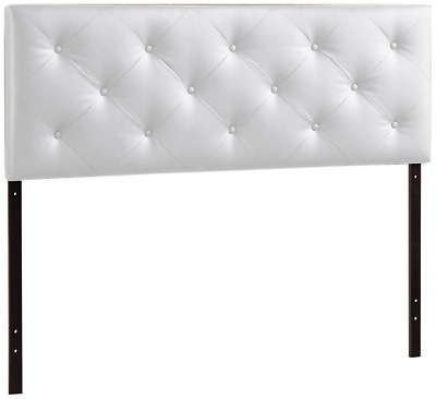 Baxton Studio Wholesale Interiors Baltimore Contemporary Faux Leather Headboard,