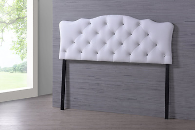 Baxton Studio Wholesale Interiors Rita Modern and Contemporary Faux Leather Upho