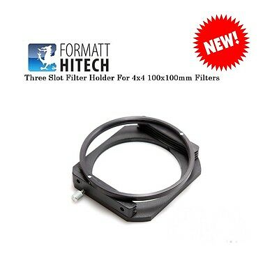Hitech Three Slot Filter Holder For 4x4 100x100mm Filters NEW