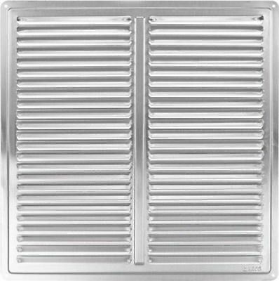 """Stainless Steel Air Vent Grille Cover 300x300mm (12x12"""") Ventilation Grill Cover"""