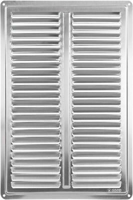 """Stainless Steel Air Vent Grille Cover 200x300 mm (8x12"""") Ventilation Grill Cover"""