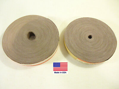 2 Sanding Rolls For Shop~Plumbers, Each 50 Yards Long, Cloth, New, USA.