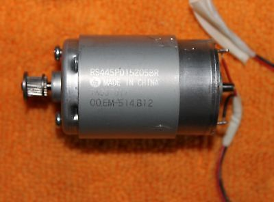 RS445PD15205BR TN397817 00.EM-514.B12 DC Motor From Working Epson R280 Printer
