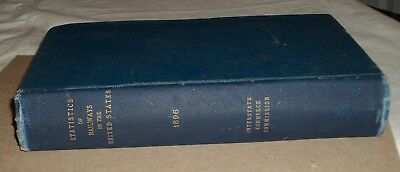 ***early 1897 Statistics Of Railways In The United States Book***