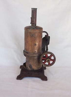 1940's-50's Vertical Donkey Steam Engine Toy Renown Made in Australia Rare