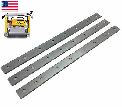 "DEWALT DW734 12.5"" HSS Planer Blades for DeWalt DW734, DW7342 - Pack of 3"