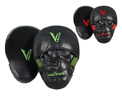 NEW Boxing Mitts Focus Pads Gel Curved MMA Punching Kickboxing Target Cardio Gym