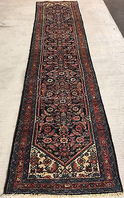 Tapis Couloir Passage Galerie laine Alfombra Tappeto Carpet Rug Antique 400x95cm