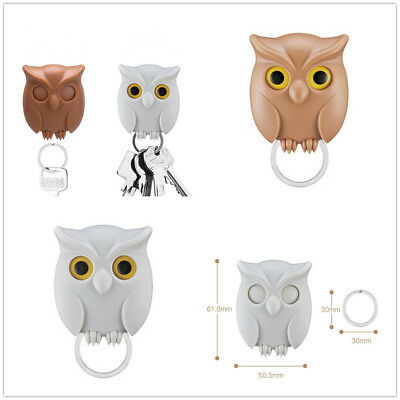 Owl Key Holder Wall Mounted Magnetic Key Holder Creative Practical Home Decor