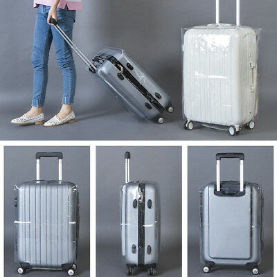 Waterproof Transparent Protective Universal Luggage Travel Cover Suitcase WCV