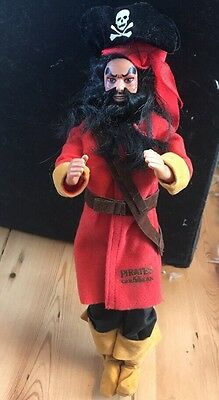 Pirates Of The Caribbean Vintage Captain Doll Rare